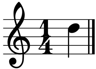 Ре блокфлейта