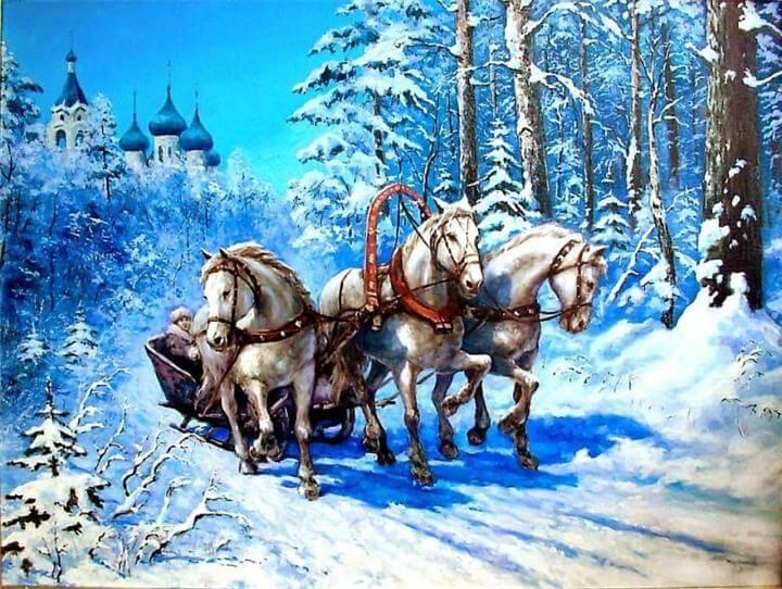 ОДП филиала «Отрадное» ГБУ ТЦСО «Бабушкинский» приглашают на мастер-класс «Ой мороз, мороз»