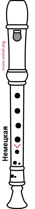 германская блокфлейта