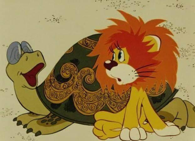 Скачать ноты песенка львнка и черепахи.