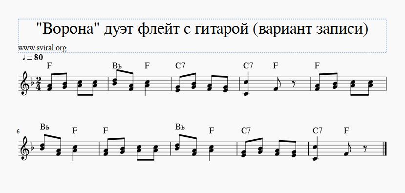 блокфлейта ноты буквы в названии аккордов